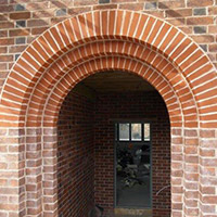Purpose made bespoke 3-arch entrance Porch